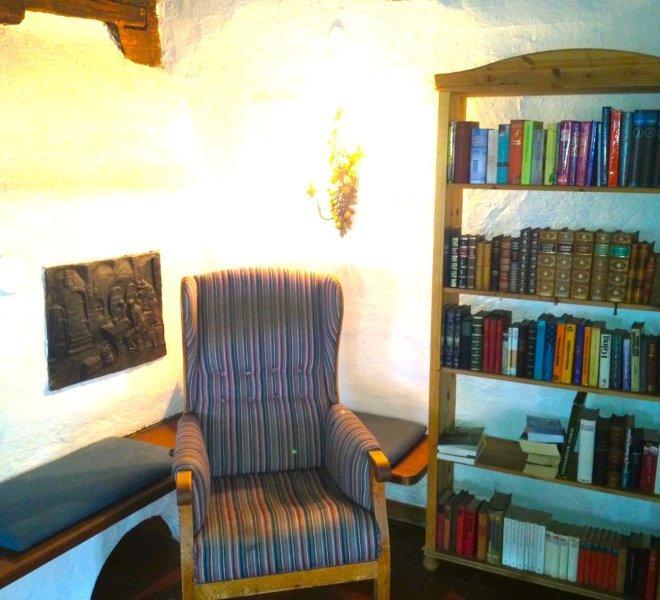 Pilgerhof Wohnzimmer Leseecke