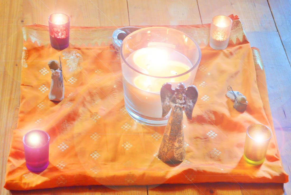 Meditationskerze