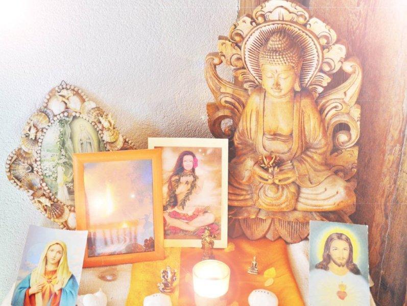 Meditationsaltar