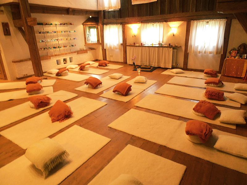 Seminarraum 1 - Meditation Vollbelegung
